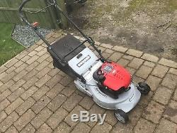 Masport Rotarolla self propelled petrol lawn mower