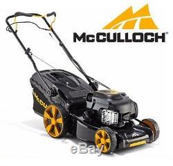 McCulloch M46-140WR Petrol Self Propelled Lawn Mower Briggs Engine M46 46cm