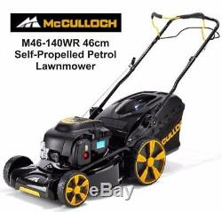 McCulloch M46-140WR Petrol Self-Propelled Mower Briggs Engine M46 46cm Collect