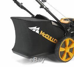 McCulloch M51-140WR Classic+ Petrol Lawnmower Self Propelled 140cc 51cm Blade