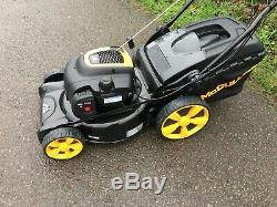 Mcculloch 18 Self Propelled Petrol Lawnmower with Grass Bag Mulches