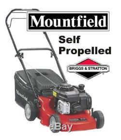 Mountfield SP185 Self Propelled Petrol Lawnmower 45cm 18 Briggs & Straton 125cc