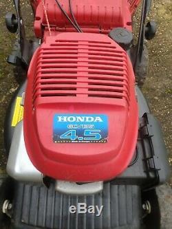 Mountfield SP474 self propelled petrol lawnmower Honda GCV135 engine