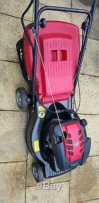 Mountfield SP536 Electric key start self propelled petrol lawnmower + grassbox