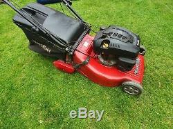 Mountfield SP554R self propelled professional petrol lawnmower + grassbox