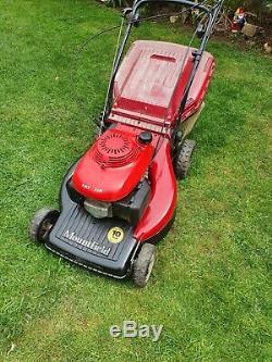 Mountfield SP555 self propelled profession petrol lawnmower + grassbox