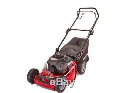 Mountfiled SP185 46cm 125cc Briggs Self-Propelled Petrol Lawn Mower Garden Grass