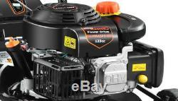 MowMaster 43PD-SSE 3-in-1 Petrol Lawnmower Self Propelled FREE Oil