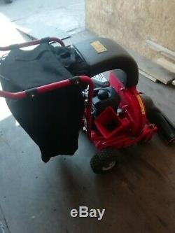 Mtd 202 55/60 chip n vac Self Propelled Petrol Vacuum & Chipper