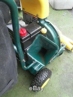 Mtd Yardman Self Propelled Petrol Vacuum Chipper Shredder Debris leaf collector