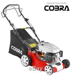 New Cobra M40SPC 16 Self Propelled Petrol Lawnmower FREE ENGINE OIL