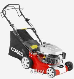 New Cobra M40SPC 16 Self Propelled Petrol Powered Lawnmower 2 Year Warranty NEW