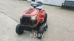 New ride on lawn mower