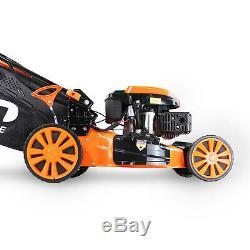 P1PE 173cc Petrol Self Propelled ELECTRIC START Lawnmower Hyundai Engine