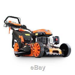 P1PE Hyundai P5100SPE Petrol 4-Stroke Self-Propelled Lawnmower 173cc 60 Litre