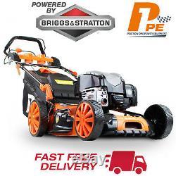 P1PE Petrol Lawnmower 51cm Self Propelled 675EXi Briggs & Stratton Lawn Mower