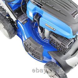 Petrol Lawn Mower Electric Start Self Propelled Mulching Lawnmower 18 46cm