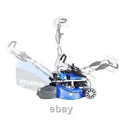 Petrol Lawn Mower Rear Roller Electric Start Self Propelled Lawnmower 21 53cm