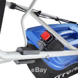 Petrol Lawnmower Self Propelled Lawn Mower ELECTRIC START 46cm 460mm 18 HYUNDAI