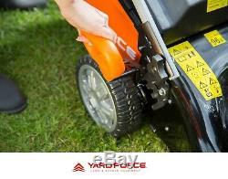 Petrol Lawnmower Self Propelled by Yard Force, 46cm lawn mower B&S 140cc engine