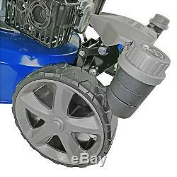 Petrol Self Propelled Electric Start Lawnmower Zero Turn Lawn Mower 196cc 51cm