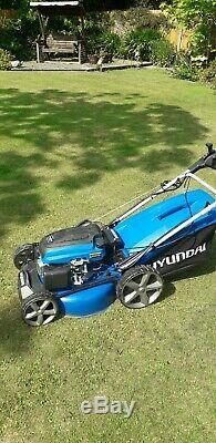 Petrol lawn mower self propelled electric start