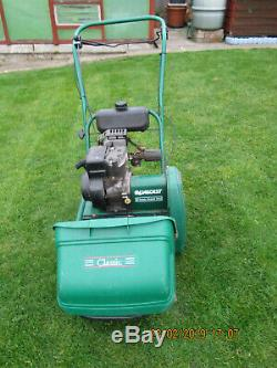 Qualcast 35s classic selfpropelled petrol roller lawnmower in good working order