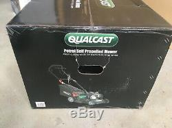 Qualcast 46cm Petrol Self Propelled Lawn Mower Briggs & Stratton New & Boxed