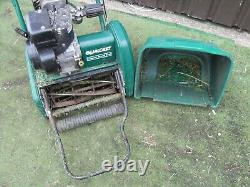 Qualcast Classic 35s self Propelled lawnmower Cylinder Roller Mower petrol
