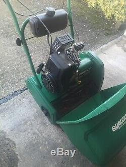 Qualcast Classic Petrol 35S Petrol Cylinder Lawn Mower Self Propelled