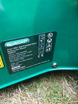 Qualcast XSZ41D Garden Self Propelled Petrol Lawnmower 41cm Cut 125cc BRIGGS