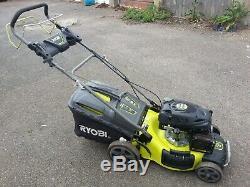 RYOBI 173 SELFPROPELLED petrol lawnmower 4 IN ONE mower Good working order