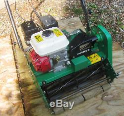 Ransomes Marquis 51 Honda powered cylinder mower 51cm self propelled with roller