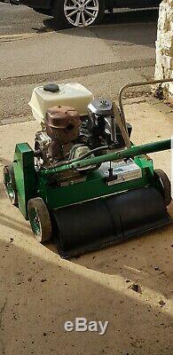Ransomes self propelled petrol scarifier heavyduty commercial