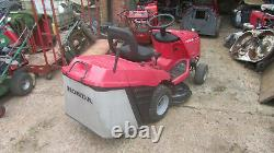 Reduced to clear Honda V-Twin 2114 Ride on Mower 14Hp amazing Honda engine