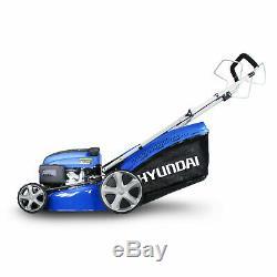 Refurbished Petrol Lawnmower 46cm Self Propelled Mulching Lawnmower HYM460SP