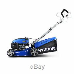 Refurbished Self Propelled Petrol Lawnmower 42cm HYM430SP Recoil Start Mulching