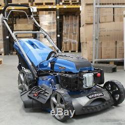 Refurbished Self Propelled Petrol Lawnmower 51cm Hyundai HYM510SP Mulching