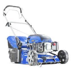 Roller Lawn Mower Petrol Self Propelled Lawnmower 17 43cm Oil Included HYUNDAI