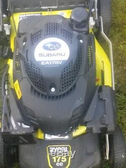 Ryobi self propelled mower mulched petrol mower