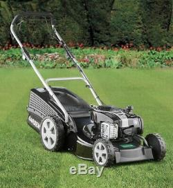 Self-Propelled Petrol Lawn Mower 4stroke BRAND NEW LOOK 46cm Cut