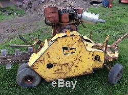 Self Propelled Trenching Machine Petrol