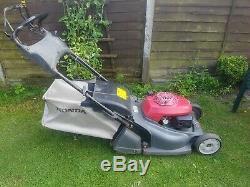 Self propelled rear roller professional HONDA HRX 476 QXE lawnmower