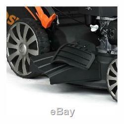 Sherpa Petrol Lawnmower 4-in-1 Honda GCV160 53cm 160cc Self Propelled + FREE OIL