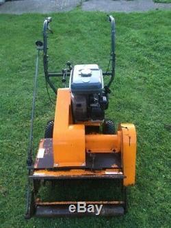 Sisis Rotorake self propelled scarifier dethatcher Kubota petrol engine no box