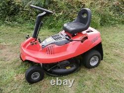 Small Mountfield Castel Efco 725m EL63 Ride On Lawn Grass Mulch Mower 625m