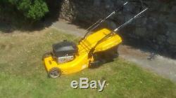Stiga turbo(mountfield) self propelled rear roller petrol lawnmower