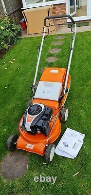 Stihl RM248T Self Propelled Petrol Lawnmower 46cm (18 inch) Virtually Brand New