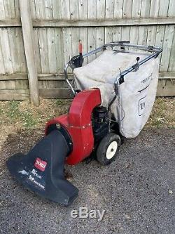 Toro Petrol Self Propelled Leaf Vacuum Garden Grass Rubbish Billy Goat Mower