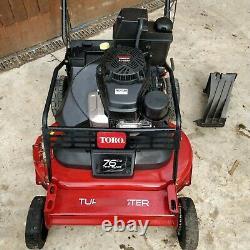 Toro Turfmaster Kawasaki 76cm Twin blade Commercial Mower FREE P&P VAT INC'3101